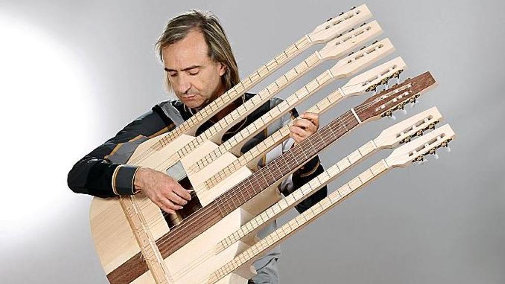 Le chitarre a pi manici suonano per mr palladio for Chitarre magazine
