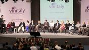 La presentazione in fiera dell'outlook di wine2wine	, l'osservatorio b2b di Vinitaly
