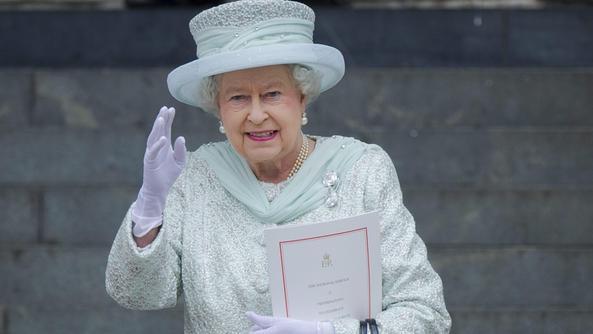 la regina a asiago per commemorare i caduti inglesi