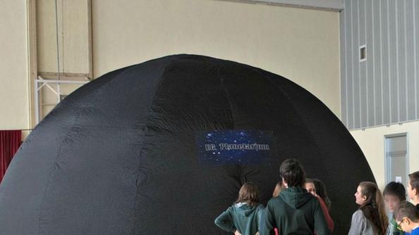 Visita al planetario. S.P.