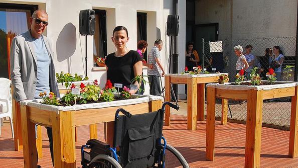 i disabili in carrozzina coltivano l'orto pensile - altavilla - il ... - Pensili Per Disabili