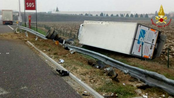 L'incidente in autostrada