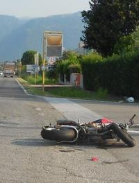 La scena dell'incidente CECCON
