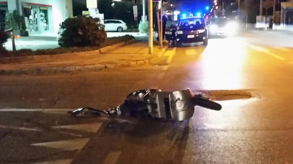L'incidente è avvenuto ieri sera a Ca' Baroncello.