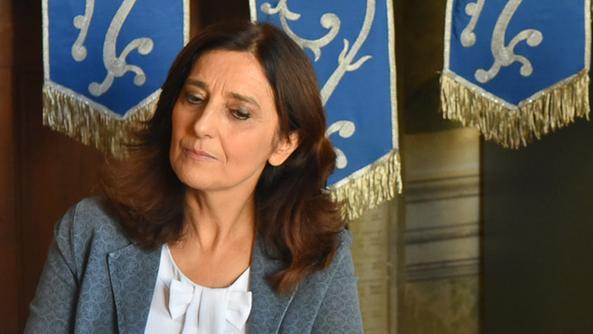 Il sindaco  Paola Fortuna, candidata dell'area berica. FOTO MASSIGNAN