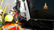 Vicenza, incidente in A4