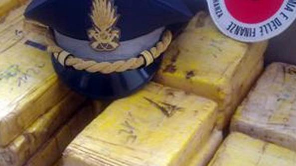 Hashish sequestrato dalla Gdf