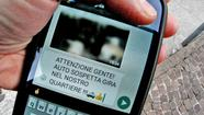 Gruppi Whatsapp anti-criminalità