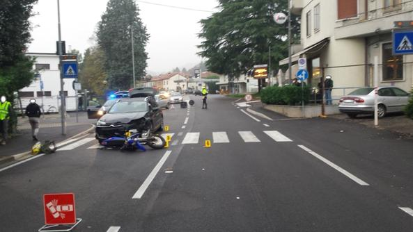 Incidente ieri a Schio