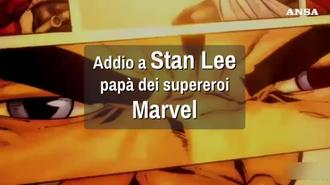Addio a Stan Lee, papa' dei supereroi Marvel