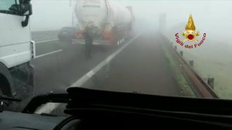 Veneto, maxi incidente in A22