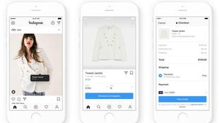 Instagram annuncia check out su shopping (foto ANSA)