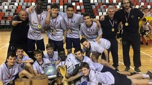 L'Under 14 dell'Oxigen Bassano ha vinto le Superfinals EYBL