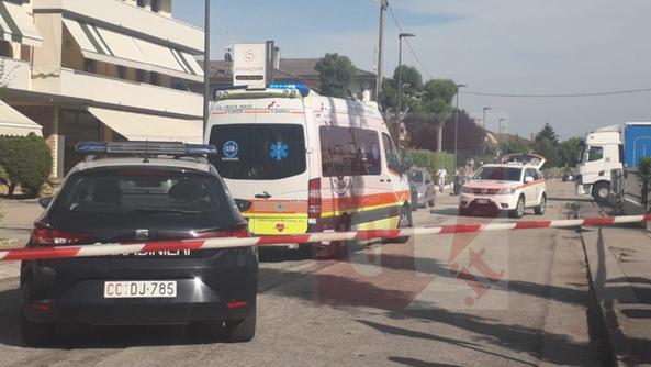 Tragedia a Montegaldella (COLORFOTO)