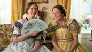 "Un frame dal film ""A quiet passion"""