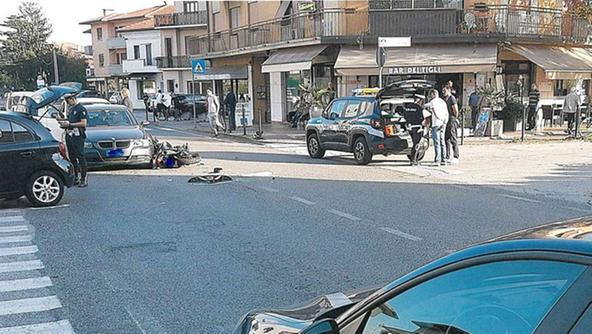 L'incidente fra via deiTigli e la regionale 245