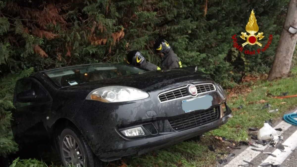 Sbandata e schianto Automobilisti feriti e traffico in tilt - Il Giornale di Vicenza