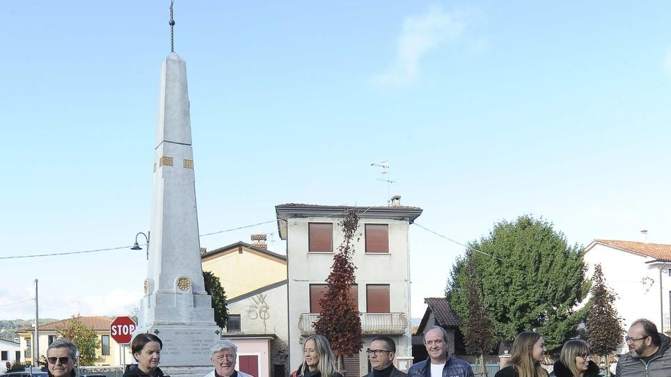 Tezze ora rinasce Pedoni più sicuri nella nuova piazza - Il Giornale di Vicenza