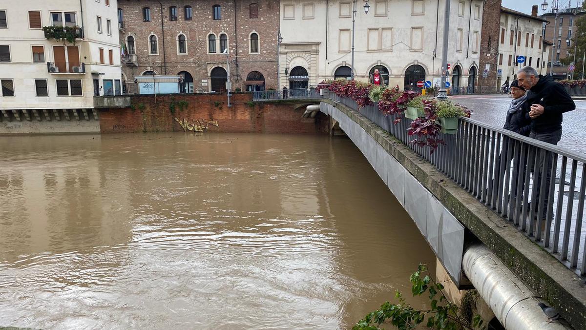 A Vicenza rientra stato di attenzione per il maltempo - Il Giornale di Vicenza