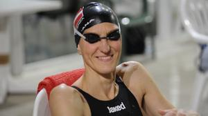 Michela Boscari  nella categoria master 40 ha dominato i 200 s. l.