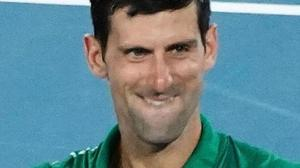 Novak Djokovic in finale