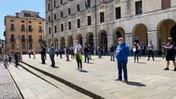 Flash mob in centro (NEGRIN)