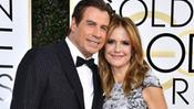John Travolta con la moglie Kelly Preston (foto Instagram)