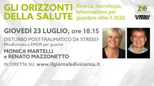 "Alle ore 18.15 inizia l'evento ""Disturbo post-traumatico da stress? Mindfulness e EMDR per guarire"""
