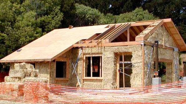 Schio muri di paglia per le case ecologiche news old for Ottenere una casa costruita