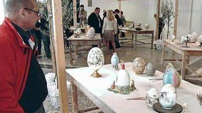 Uova Di Pasqua Ceramica.Nelle Uova In Ceramica Il Significato Della Pasqua Bassano Old